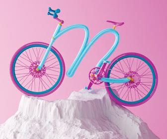 3D illustrator Matt Wood's charming blend of typographic illustrations & random facts
