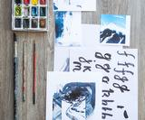 12 brush lettering tips and techniques