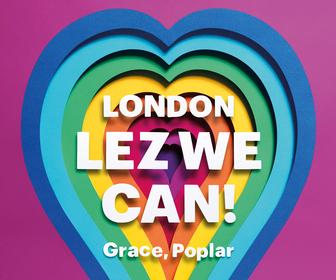 30 UK artists have created vibrant posters celebrating Pride London
