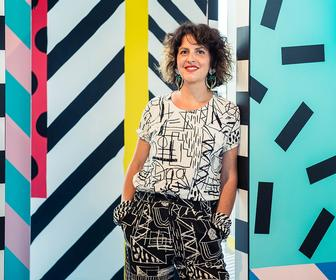 Interview: Camille Walala on her giant 3D installation inspired by childhood funfair visits