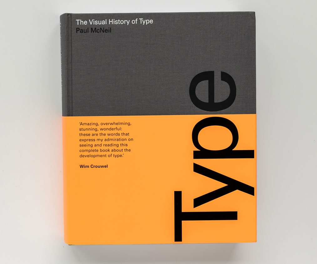 Learn everything about type with this brilliant (and weighty) tome