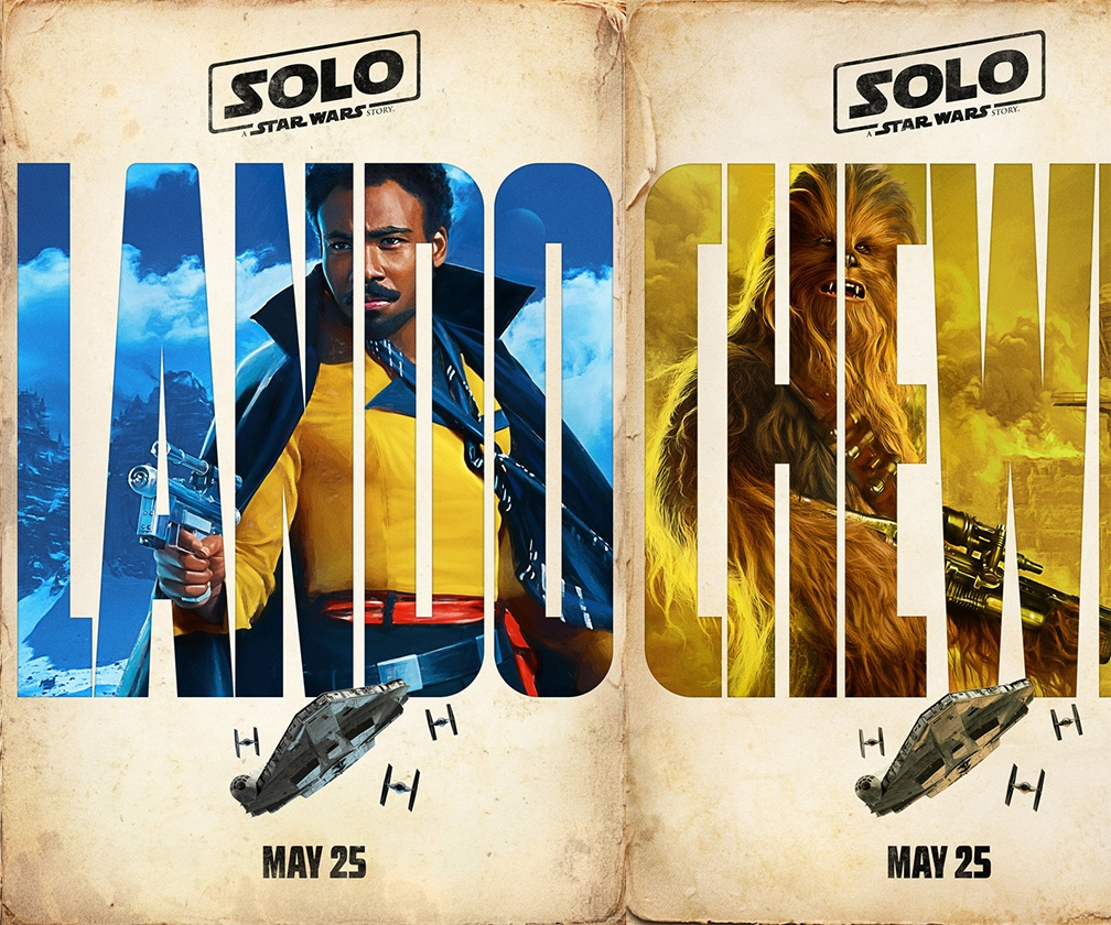 Star Wars' Han Solo spin-off movie debuts with four painted character posters