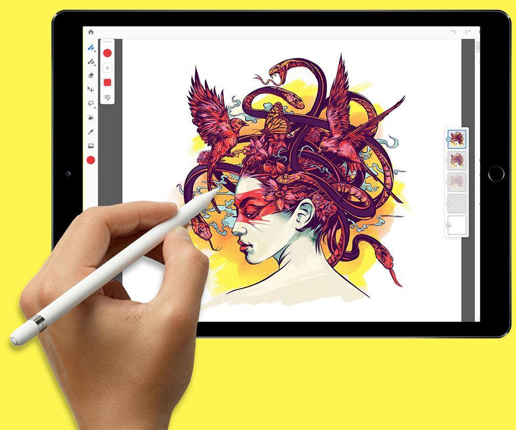 Project Gemini hands-on: Adobe's Procreate rival is a new drawing and painting app for the iPad