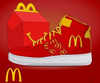 These cheeky sneaker posters imagine big brands taking on footwear